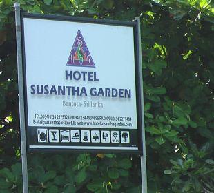 Hotel Schild Hotel Susantha Garden