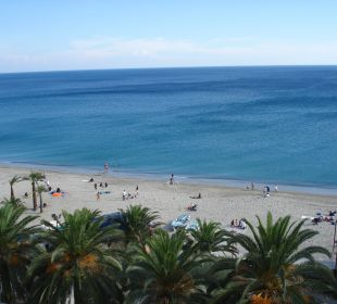 Blick vom Balkon  Hotel Medusa