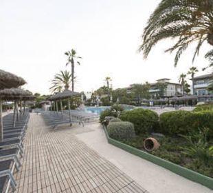 Pool und Liegen allsun Hotel Eden Playa