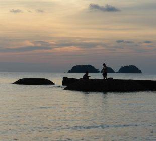 Schönste Sonnenuntergänge Hotel Mercure Koh Chang Hideaway