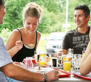 Frühstück FairSleep Avia Motel Gmünd Mitte