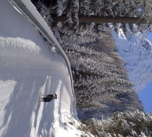 Schneeschuhwanderung zum weissen Knott offen! Hotel Bella Vista