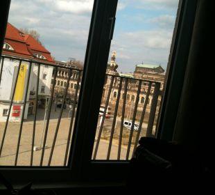 Zwingerblick Motel One Dresden am Zwinger