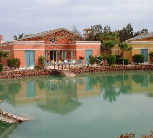 Häuser an der Lagune