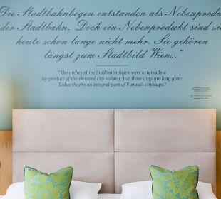 Schlafen mit großen Sprüchen Das Capri.Ihr Wiener Hotel