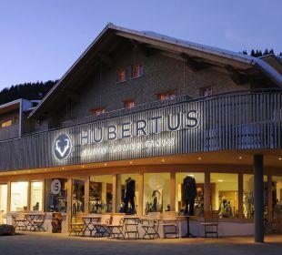 Hotel Eingang Hubertus Alpin Lodge & Spa Hubertus Alpin Lodge & Spa