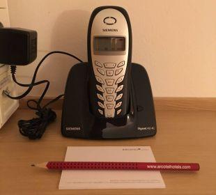 Schnurloses Telefon im Zimmer ARCOTEL Rubin