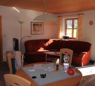 Gemütliches Wohnzimmer Kressenlehen FeWo