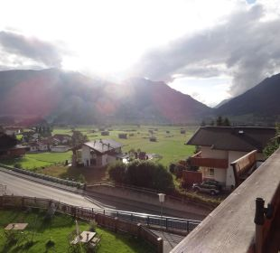 Ausblick vom Balkon Mair's Landgasthof