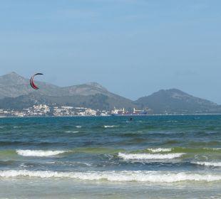 Der Schöne Strand von Playa de Muro Aparthotel Esperanza Park