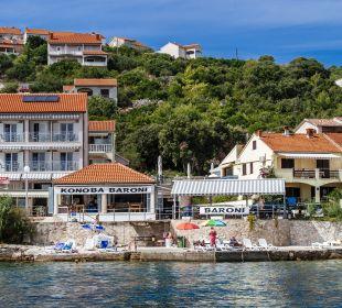 Außenansicht Pension Villa Baroni