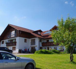 Frontansicht vom Berghof Ferienwohnungen Berghof Kinker