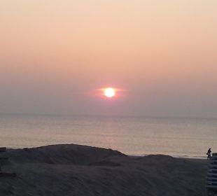 Sonnenuntergang im März Center Parcs Park Zandvoort Strandhotel