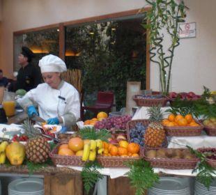 Jeden Morgen Frische Früchte Gran Tacande Wellness & Relax Costa Adeje