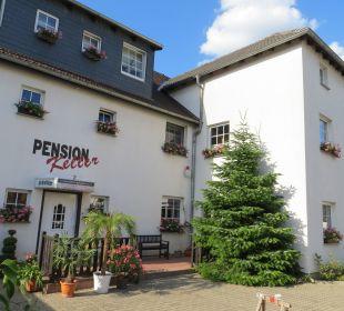 Außenansicht Hotel-Pension Keller