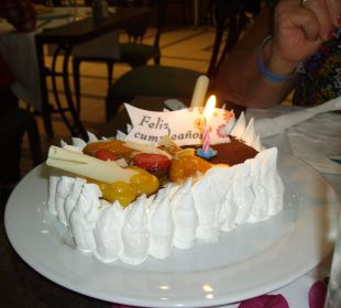 Meine Geburtstagstorte Dunas Suites&Villas Resort