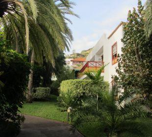 Die Häuser gut in die Natur intergriert Hotel Hacienda San Jorge