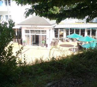Außenansicht Ostseehotel Villen im Park