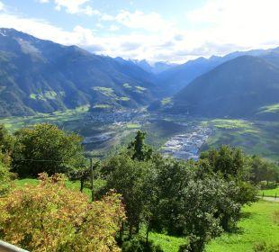 Blick vom Balkon Pension Mairhof