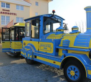Hauseigene Stadtrundfahrtbahn Morada Strandhotel Ostseebad Kühlungsborn