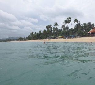Sicht Strand entlang Samui Buri Beach Resort & Spa