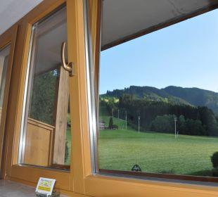 Ausblick von den Zimmern Pension Alpina