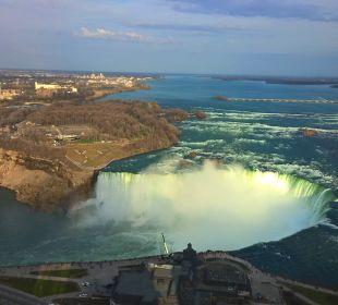 Ausblick Hotel Hilton Niagara Falls / Fallsview