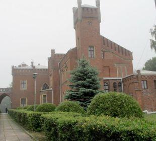 Eindrucksvolles Gebäude Hotel Zamek Karnity