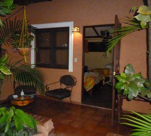 Zimmer Nr. 2 mit Terrasse Hotel Casa Valeria