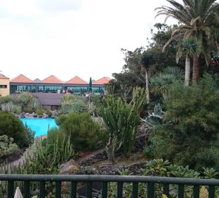 Blick aufs Restaurant Hotel Hacienda San Jorge