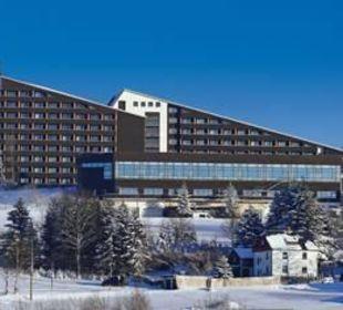 Außenansicht Winter IFA Schöneck Hotel & Ferienpark