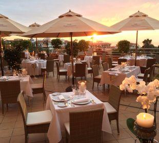 Fancy dinner with breathtaking views! Hotel Botanico