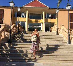 Der Haupteingang zum Hotel Hotel Don Antonio