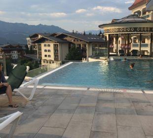 Neuer Pool Alpina Family, Spa & Sporthotel