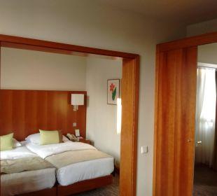 Schlafraum K+K Hotel am Harras