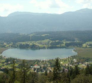 Blick auf den Pressegger See Alpen Adria Hotel & Spa