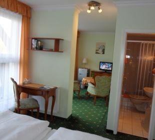 Komfort-DZ mit Terrasse Nr.7 Gästehaus Linde