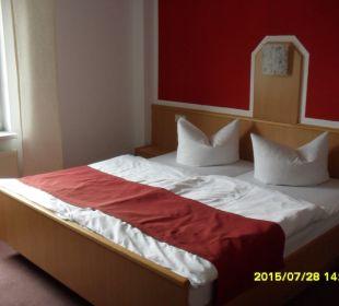 Doppelbett Hotel-Pension Keller