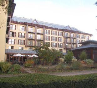 Blick von der Straße aus Lindner Park-Hotel Hagenbeck