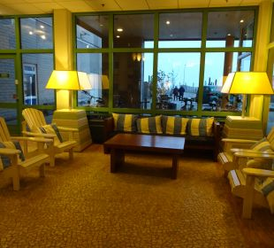 Lobby Center Parcs Park Zandvoort - Strandhotel