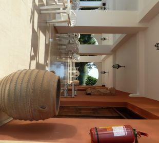 Überdachte Terrasse Hotel Paradise Corfu
