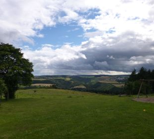 Ausblick auf Mittelrheintal   Landgasthaus Blücher