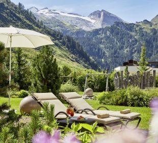 Gartenanlage Hotel Alpenhof