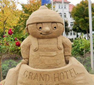 Sandfigur Grand Hotel Binz by Private Palace Hotels & Resorts