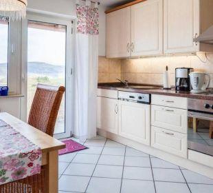 Küche Ferienwohnung Schau Rhein