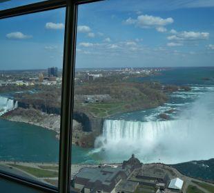 Ausblick aus dem Zimmer am Tag The Tower Hotel