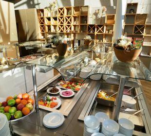 Frühstücksbuffet im Restaurant Zeppelin Kongresshotel Potsdam am Templiner See