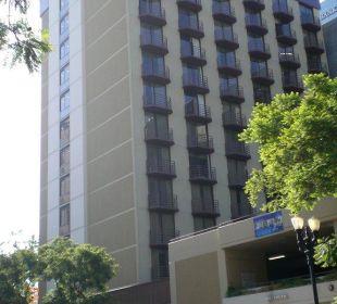 Blick von der Straße Best Western Hotel Bayside Inn
