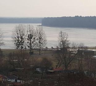 Ausblick aus dem Fenster AHORN Seehotel Templin