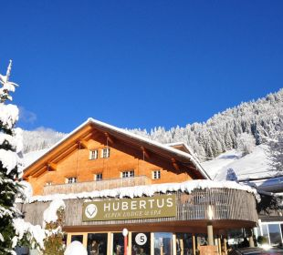 Hubertus im Winter Hubertus Alpin Lodge & Spa